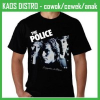 Jual Kaos The police - Reggatta de Blanc DA78 Oblong Distro Murah