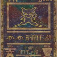 Kartu Pokemon Ancient Mew Holo WOTC Movie 2000 Promo NM