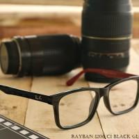 Frame Kacamata Rayban 1206 C1 Black Glossy Red