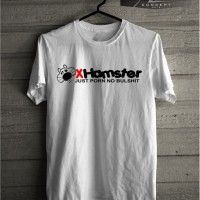 MURAH Kaos T shirt X hamster Just Porn No Bullshit URBAN MERCH