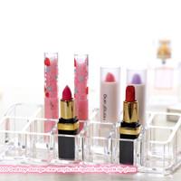 Jual Rak Kosmetik 1030 Desktop storage clear acrylic rak lipstick r L8 Murah