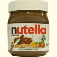 Jual Nutella spread hazelnut 350gram, selai coklat nutela Murah