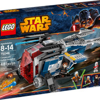 Jual EXKLUSIF LEGO 75046 - Star Wars - Coruscant Police Guns Limited Murah