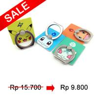 Jual Ring hp holder cincin handphone iRing docking stand pokemon go Murah