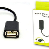 Jual Paling Murah OTG kabel usb micro / kabel otg for samsung, bb, oppo, an Murah