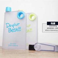 Jual DISKON New Memo Bottle Do Your Best Doff / Botol Minum Plastik Memo Bo Murah
