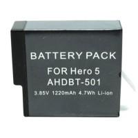 Jual STOK TERBATAS Baterai GoPro Hero 5 1220mAh - Black Kualitas Terbaik Murah