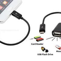Jual Terlaris OTG kabel usb micro / kabel otg for samsung, bb, oppo, androi Murah