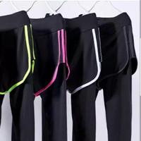 Jual Promo ! Celana Sport 3912 / 2771 Tally Legging Panjang Double Layer /  Murah