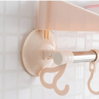 Jual Rak kamar mandi serbaguna tempat shampoo sabun handuk baju - HPR048 Murah