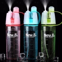 Hot Item Botol Minum New N  Bisa Spray Water Bottle 600 ml