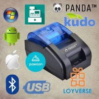 Jual PRINTER KASIR/PPOB THERMAL 58MM PANDA PRJ-58D ANDROID (USB+BLUETOOTH) Murah
