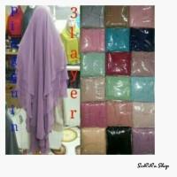 Jual Hijab Jilbab Khimar Pinguin 3 Layer By Novi Murah