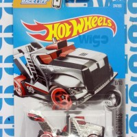 Diecast Hotwheels Hot Wheels Rig Storm chrome lot M 2017