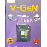 harga Microsd V-gen 32gb Class 6 48mb/s + Adapter (memory Hp Vgen) Tokopedia.com