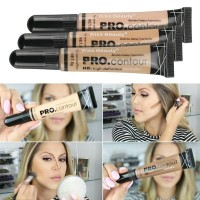 PRO CONCEALER TUBE - KISS BEAUTY HD CONTOUR / SHADING /FOUNDATION CAIR