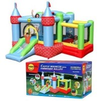 Jual HAPPY HOP CASTLE BOUNCER (9112) Murah