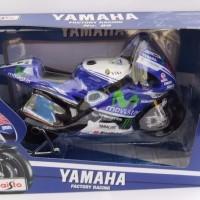 Jual MINIATUR MOTO GP  1:10 Moto GP Yamaha #99 Jorge Lorenzo 2014 Maisto Murah