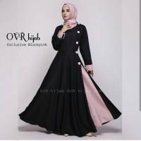 Model Baju Wanita Trendy Ovi Dress Elegan Terlaris Bermerk