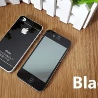 Jual TEMPERED GLASS MIRROR COLOUR IPHONE 4 4S 4G WARNA WARNI DEPAN BELAKANG Murah