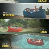 Jual Lazy Bag - Air Sofa Bed - Lazy Air Bag - Lay Bag Original Murah