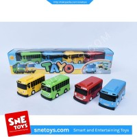 Mainan anak Bus Tayo Mobilan Tayo 4in 1 package