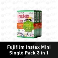 Fuji Film Instax Mini Single Pack 10 paper 3in1