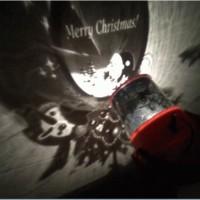 Jual lampu tidur proyektor natal christmas santa snowman olaf reseller drop Murah