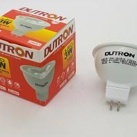 Jual 3 watt MR16 DUTRON spotlight / halogen / lampu sorot ( Warm white ) Murah