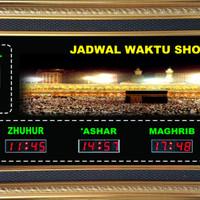 Jadwal Sholat Digital Jam Digital Sholat Gambar Mekkah