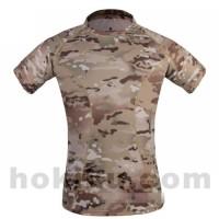 Jual Diskon Emerson Skin Tight Base Layer Camo Running Shirts - Multicam tr Murah