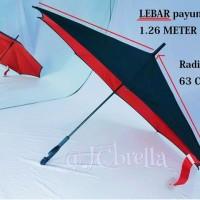 Jual Payung Kazbrella Gagang C Bentuk Lancip & Kotak (GENERASI PERTAMA) Murah