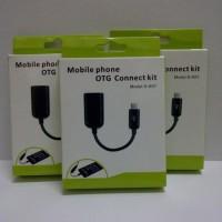 Jual (Kabel & Konektor) KABEL OTG Micro USB to USB Female   On The  Murah
