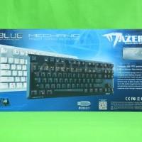 Jual Keyboard Mechanical E-BLUE MAZER K727 Rainbow LED Blue Switch Murah