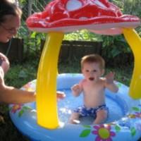 Jual (Dijamin) INTEX MUSHROOM BABY POOL (BEST SELLER) kolam intex jamur Murah