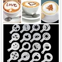 Jual PROMO MURAH Cetakan Tabur Kopi Susu Cappucino Coffee Latte Mold Maker Murah