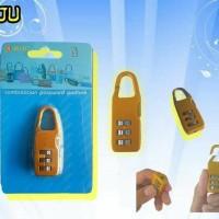 GROSIR MURAH Gembok koper gembok tas safety travel suju 3 kombinasi n