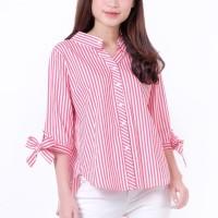 Baju Wanita Lengan 3/4, Fashion Wanita Murah, Blouse Wanita Terbaru