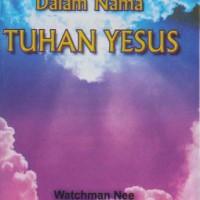 Jual Dalam Nama Tuhan Yesus Murah