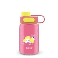 Botol minum BROS 400ml - WEGO Little Mermaid Pink