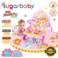 Jual SUGAR BABY BOUNCER KURSI MAINAN BAYI MY ROCKER 3 STAGES Murah