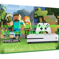 Xbox One S Slim 500GB Console - Minecraft Bundle (White)