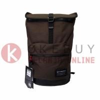 Jual Tas Merk Bodypack 2854 BROWN selempang Kantor Sekolah Backpack Travel Murah