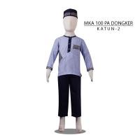 MKA100PADongker(11-13tahun) baju koko anak eksklusif elegan