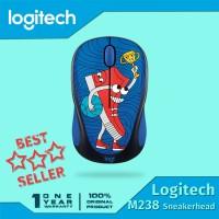 harga Logitech Original Mouse M238 Doodle Collection Sneaker Head Tokopedia.com