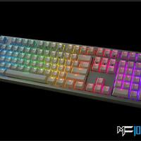 Jual Mechanical Keyboard IKBC MF-108 MF108 RGB LED (Red Cherry MX ) Murah