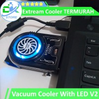 Extram Cooler, Vacuum Cooler Laptop/Notebook With LED MURAHH