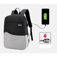 Jual Tas Ransel Tas Travel Tas Charger - USB Backpack Murah
