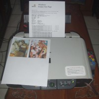 Printer Canon Pixma MP145 All-In-One Normal Siap Pakai + Infuse System