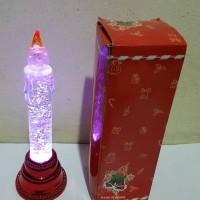 Jual Sale Lampu Natal bentuk lilin Termurah Murah